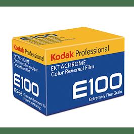 ROLLO PELICULA FOTOGRAFICA COLOR 35MM KODAK EKTACHROME E100 -  36 EXP