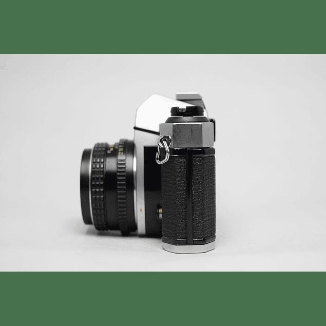 CÁMARA ANALÓGICA REFLEX 35mm PENTAX K1000 + LENTE 50mm f2
