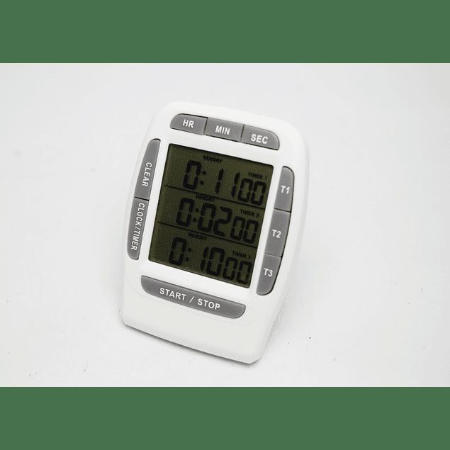 TIMER DIGITAL DE 3 ETAPAS (PARA PROCESO DE REVELADO DE PELÍCULA)