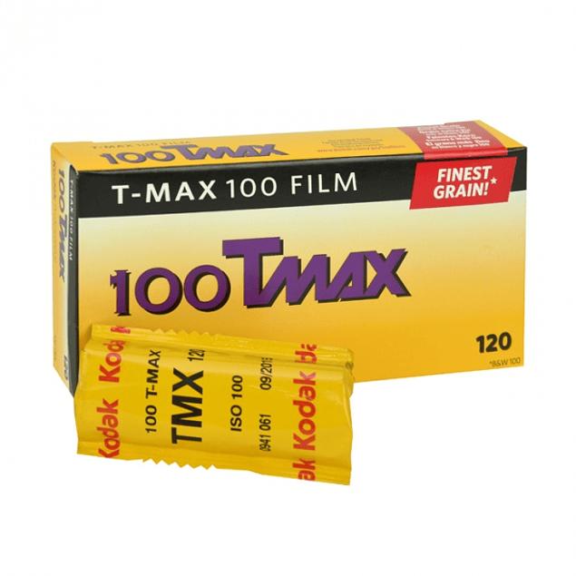 ROLLO KODAK  TMAX 100 - BLANCO Y NEGRO - FORMATO 120