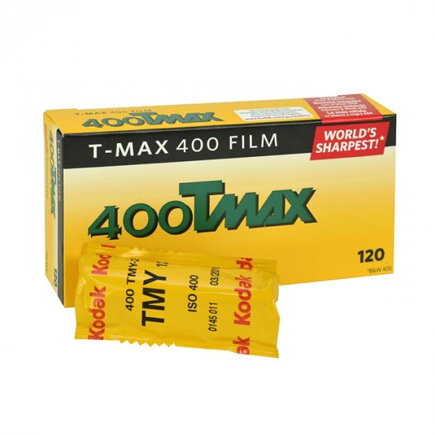 ROLLO KODAK  TMAX 400 - BLANCO Y NEGRO - FORMATO 120