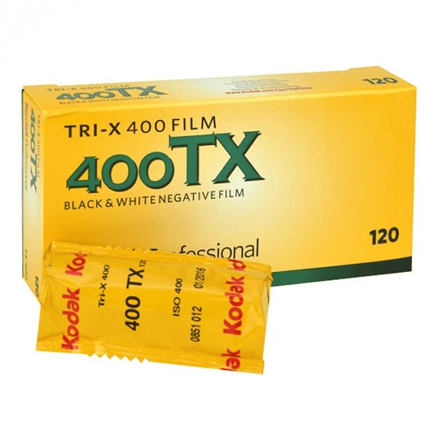 ROLLO KODAK  TRI-X 400 - BLANCO Y NEGRO - FORMATO 120