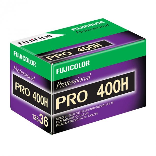 ROLLO PELICULA FOTOGRAFICA COLOR 35MM FUJI PRO 400H  - 36 EXP