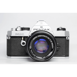 CÁMARA FOTOGRÁFICA REFLEX ANALÓGICA PENTAX MX + Lente 50 mm f2