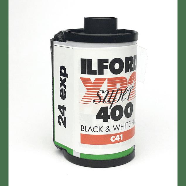 ROLLO (CARGA) ILFORD XP2 SUPER 400 PELÍCULA BLANCO Y NEGRO 24 exp