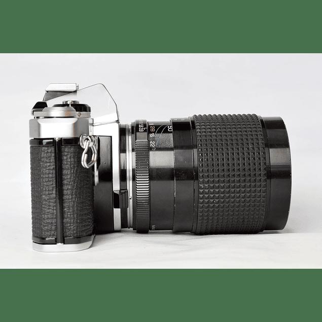 CÁMARA FOTOGRÁFICA REFLEX ANALÓGICA PENTAX ME + Lente 28-80mm