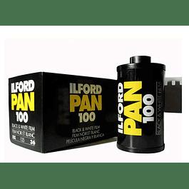 ROLLO PELÍCULA FOTOGRÁFICA BLANCO Y NEGRO 35MM PAN 100 - 36 EXP
