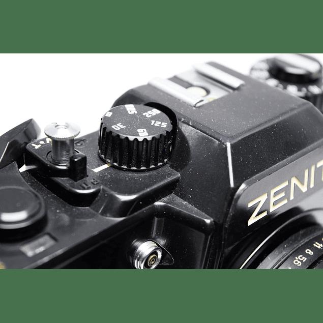 CÁMARA FOTOGRÁFICA REFLEX ANALÓGICA ZENIT 122 + Lente 58mm f2