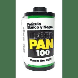 ROLLO (CARGA) PAN 100 PELICULA BLANCO Y NEGRO 36 EXP.