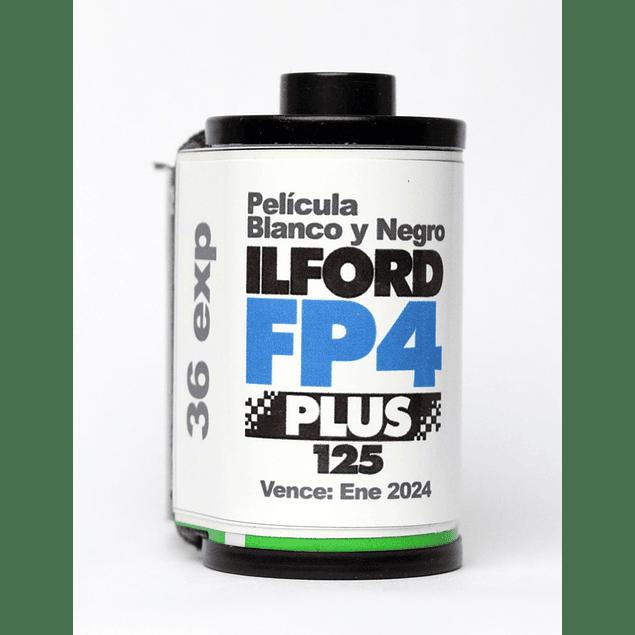 ROLLO (CARGA) FP4 125 PELICULA BLANCO Y NEGRO 36 EXP.