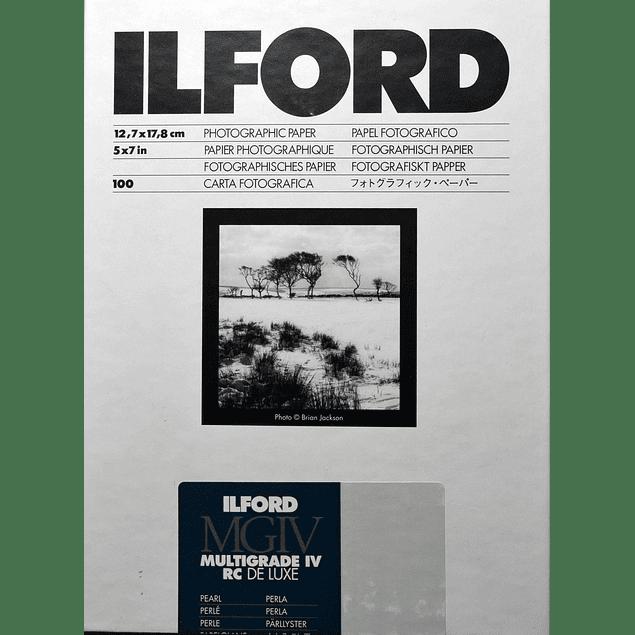 PAPEL FOTOGRAFICO ILFORD MULTIGRADO RC 12X18 CMS PERLA CAJA 100 hojas