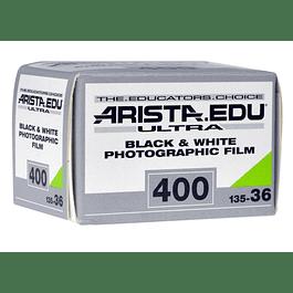 ROLLO BLANCO Y NEGRO ARISTA EDU ULTRA 400 35mm - 36 EXP