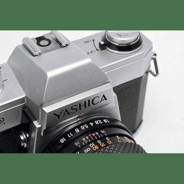 CÁMARA ANALÓGICA YASHICA FX2 + LENTE 50mm f1.9