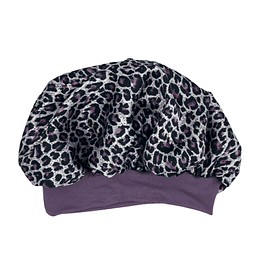 Gorro de satén Color Animal Print Marina Colorina
