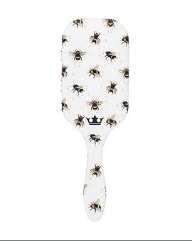 Cepillo Desenredante Denman Tangle Tamer Ultra Edición Bees para Cabello Fino y Abundante