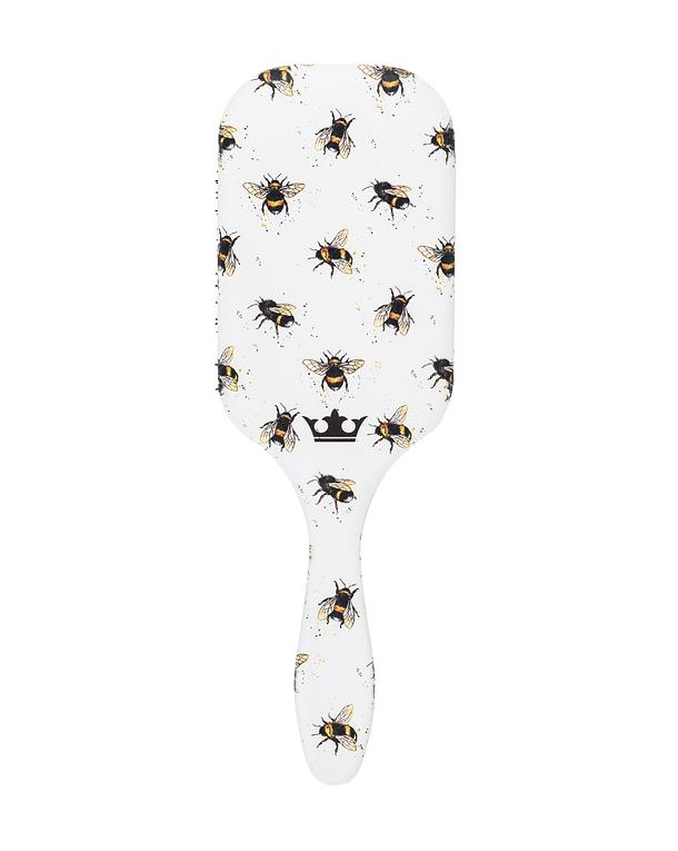 Cepillo Desenredante Denman Tangle Tamer Ultra Edición Bees para Cabello Fino y Abundante  1