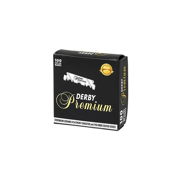 Hoja Derby Premium Single Edge