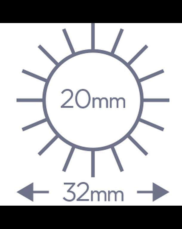Cepillo Denman Termocerámico D61 25 mm 3