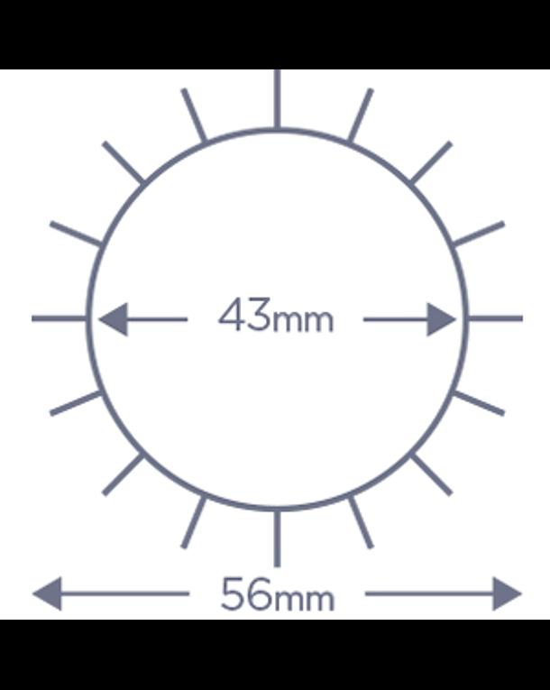 Cepillo Denman Termocerámico D63 45 mm 3