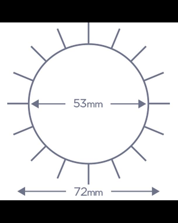 Cepillo Denman Termocerámico D64 55 mm 3