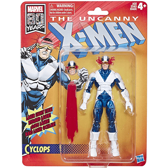 Cyclops X-Men Retro Marvel Legends 6