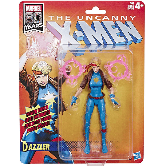 Dazzler X-Men Retro Marvel Legends 6