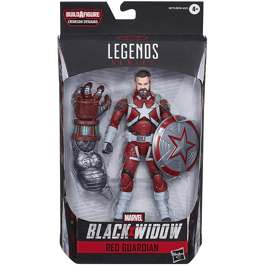 Red Guardian Black Widow Crimson Dynamo BAF Marvel Legends 6