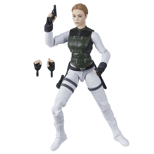 Yelena Belova Black Widow Crimson Dynamo BAF Marvel Legends 6