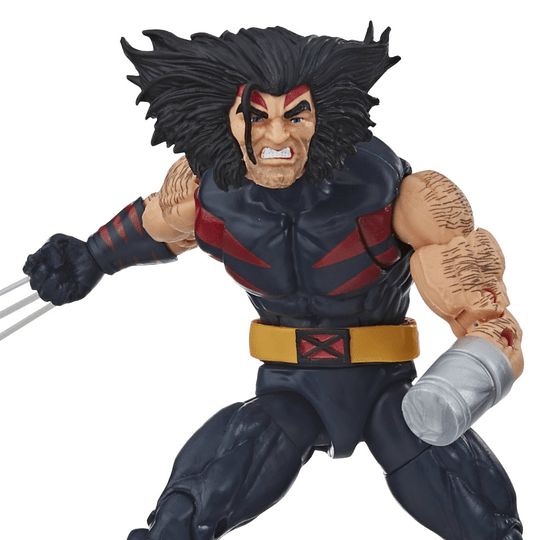 Weapon X Sugar Man BAF Marvel Legends 6