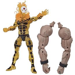 """Sunfire Sugar Man BAF Marvel Legends 6"""""""