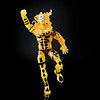 Sunfire Sugar Man BAF Marvel Legends 6