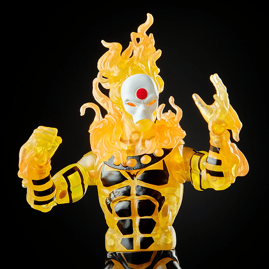 Sunfire Sugar Man BAF Marvel Legends 6