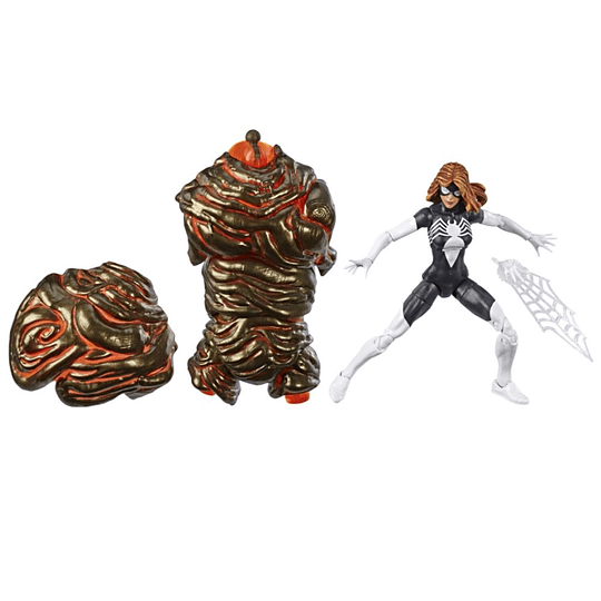 Spider-Woman Molten Man Series Marvel Legends 6