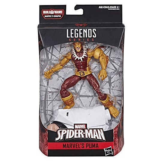 Puma Spider-Man Kingpin BAF Marvel Legends 6