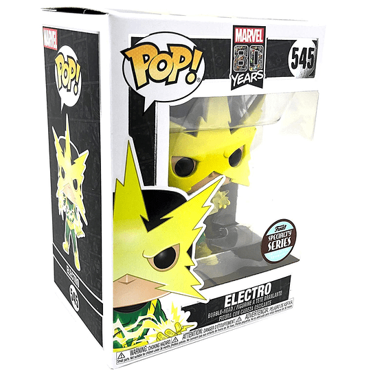 Electro First Appearance Specialty Series Pop! #545