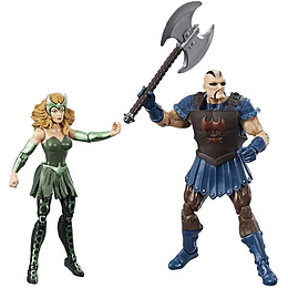 "Enchantress & Executioner 2-Pack 3,75"" Marvel"