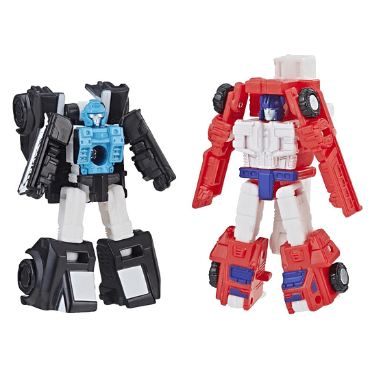 Rescue Team Red Heat & Stakeout Micromasters Siege WFC Transformers
