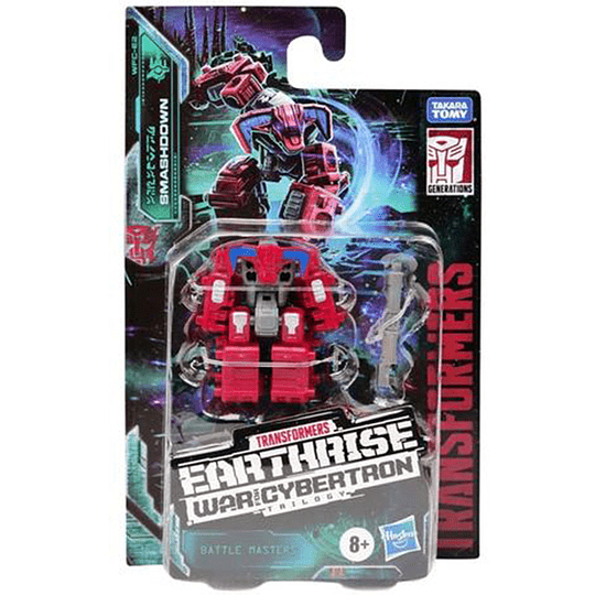 Smashdown Battle Masters Earthrise WFC Transformers