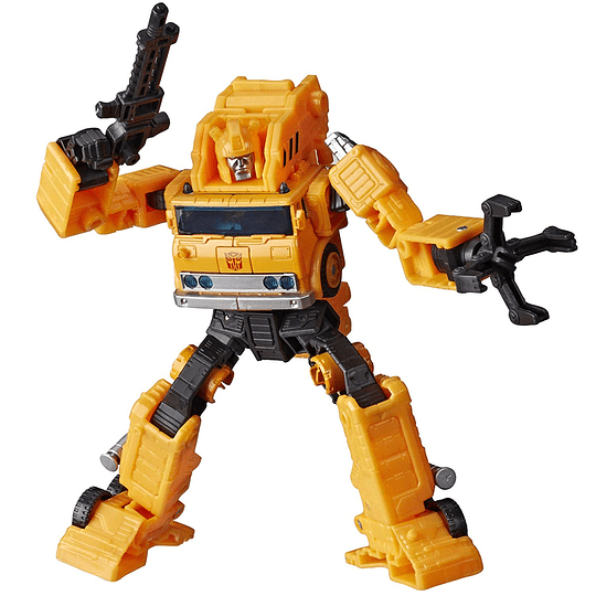 Grapple Voyager Class W1 Earthrise WFC Transformers
