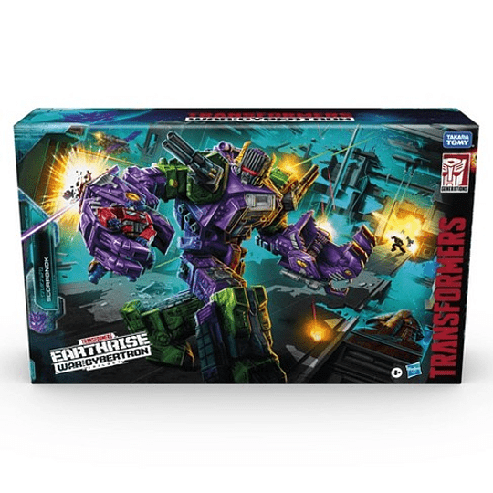 Scorponok Titan Class Earthrise WFC Transformers