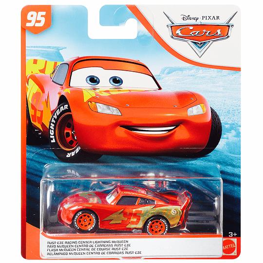 Rust-Eze Racing Center Lightning McQueen
