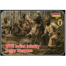 WWII Indian Infantry Heavy Weapons Set M129 1:72
