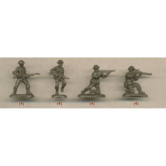Early WWII American Soldiers 2 M113 1:72