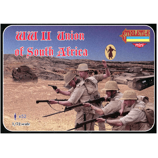 WWII Union Of South Africa M103 1:72