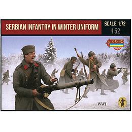 WWI Serbian Infantry In Winter Uniform Set M126 1:72