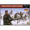 WWI Serbian Infantry In Winter Uniform Set M126 1:72