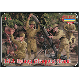 World War II Imperial Japanese Army Heavy Weapons Team M121 1:72