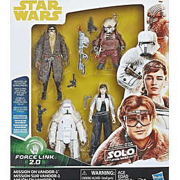 Mission On Vandor-1 Multipack Force Link 2.0 3,75""