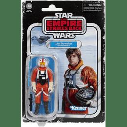 "Hoth Ice Planet Adventure Game With Exclusive Luke Skywalker (Snowspeeder) Figure Retro Collection 3,75"""