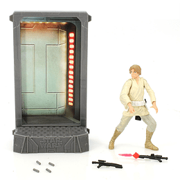 "Luke Skywalker Titanium 40th Anniversary 3,75"""